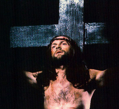 John Moreno playing Jesus Christ in the York Mystery Plays